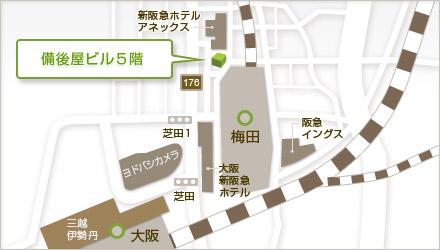 大阪院MAP